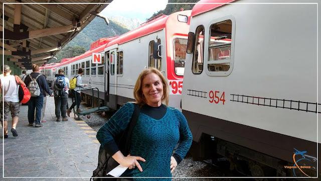 Inca Rail, Estação de Trens de Águas Calientes