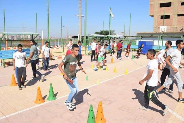 جامعة سوهاج تنفرد بتدريس مقرر اللياقة البدنية لطلاب الفرقة الأولى بجميع كلياتها