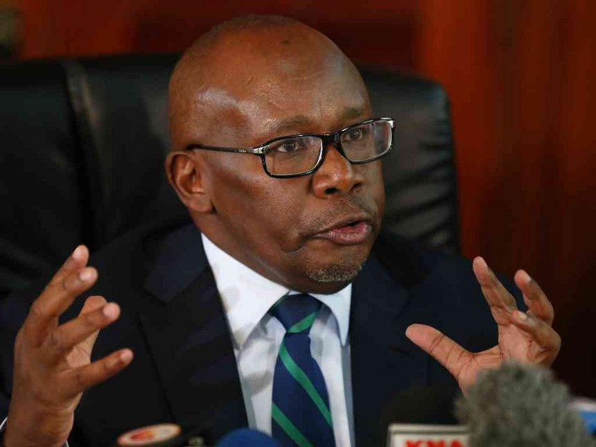Breaking News: Attorney General Githu Muigai Resigns