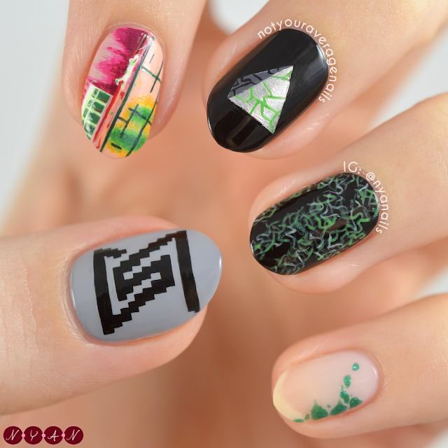 SuperM One Nails