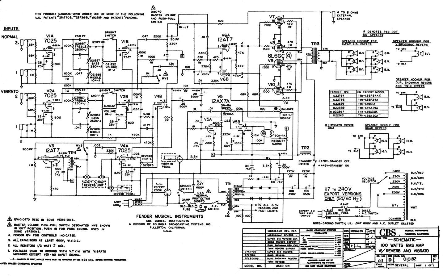 Fender Princeton Wiring Diagram Schematic Diagrams La Ita Recording Diy U2022 Mustang Source