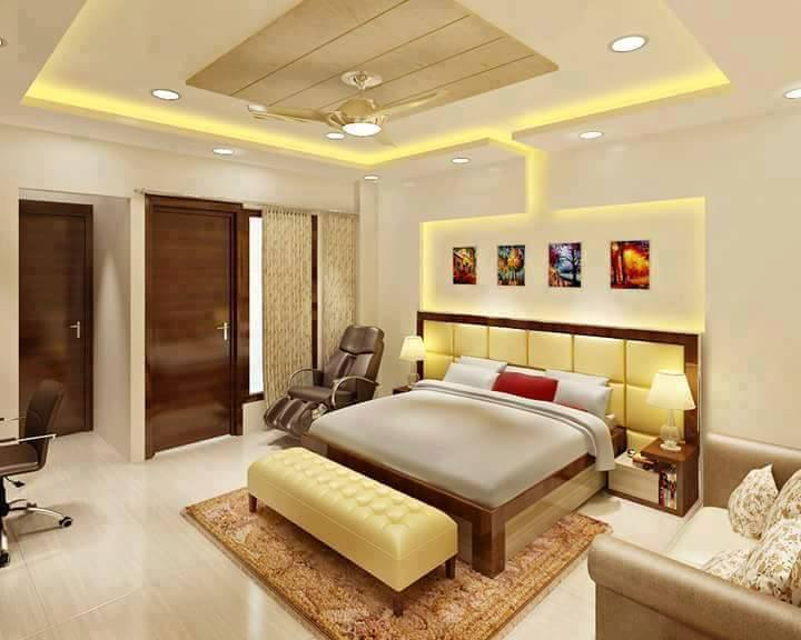 30 Elegant Wall Decorating Ideas Behind The Bed, That Will Make Your ...