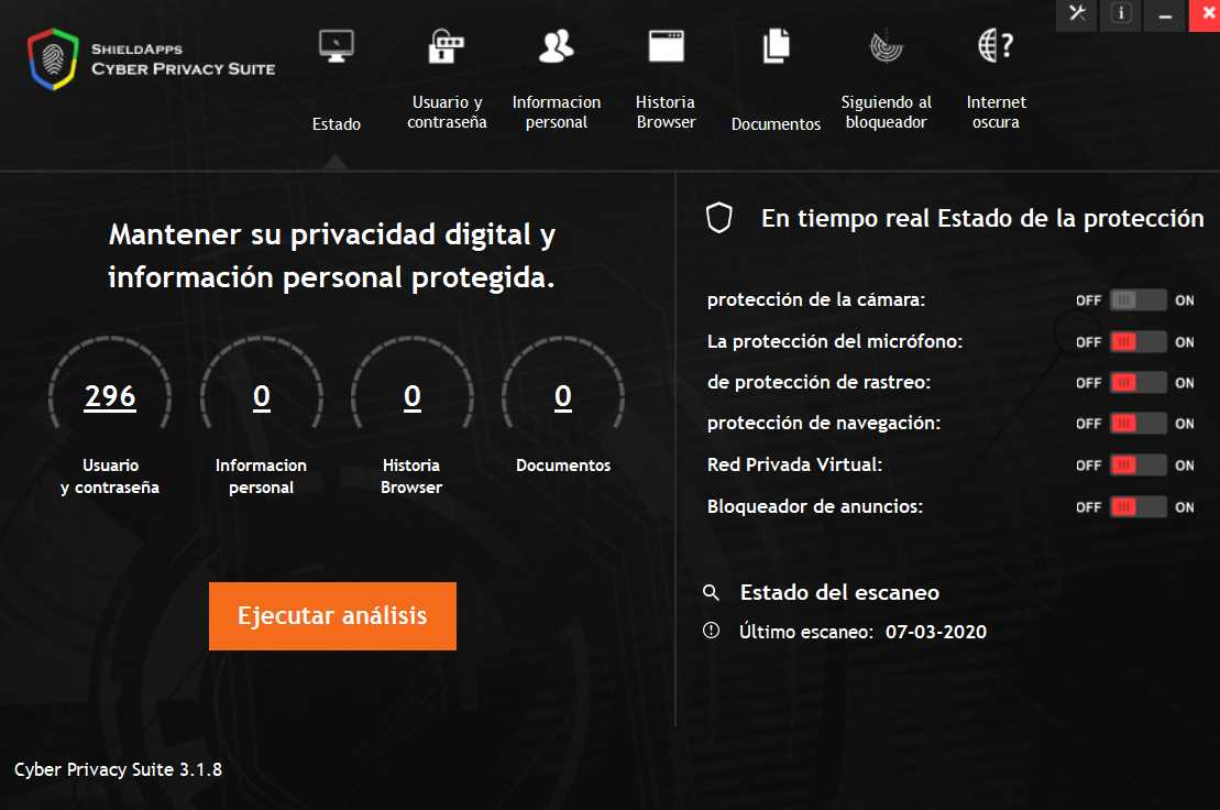 Cyber Privacy Suite 3.1.8
