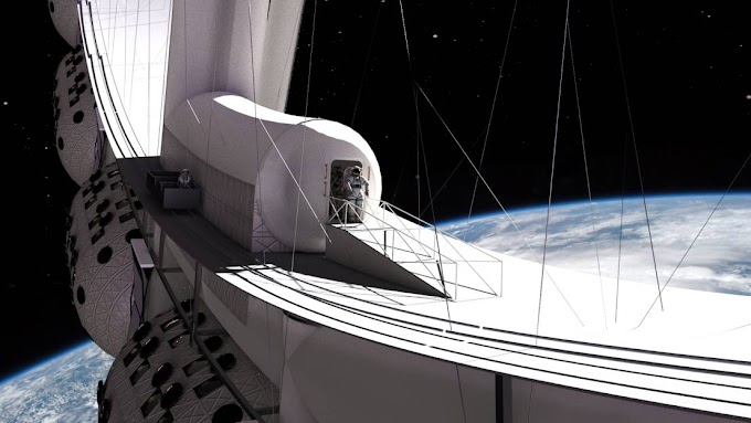 VOYAGER SPACE STATION: World's First Ever Hotel Built in Space