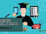 Analisis SKI, KI dan KD Kelas X  SMA MA dan SMK Tahun 2021