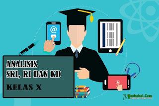 Analisis SKL, KI dan KD SMA MA dan SMK Kelas X Tahun 2021