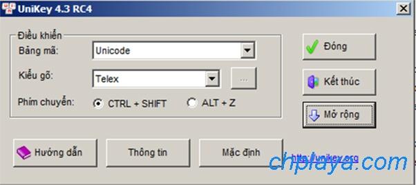 Tải Unikey mới nhất - Download Unikey 4.3 RC4 miễn phí về máy tính a