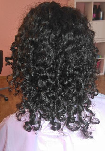 Włosy przejedzone