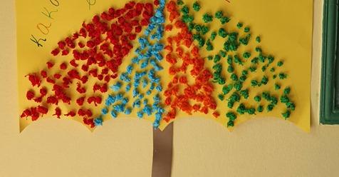 """Μια ομπρέλα από μαθητές των Εκπαιδευτηρίων Μαλτέζου για τη """"Διεθνή Ημέρα ΜΗ Βίας"""""""