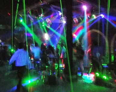 Pioneer Disco Yangon in action