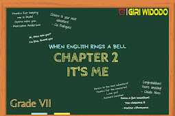 Materi Bahasa Inggris Kelas 7 Chapter 2 - It's Me!