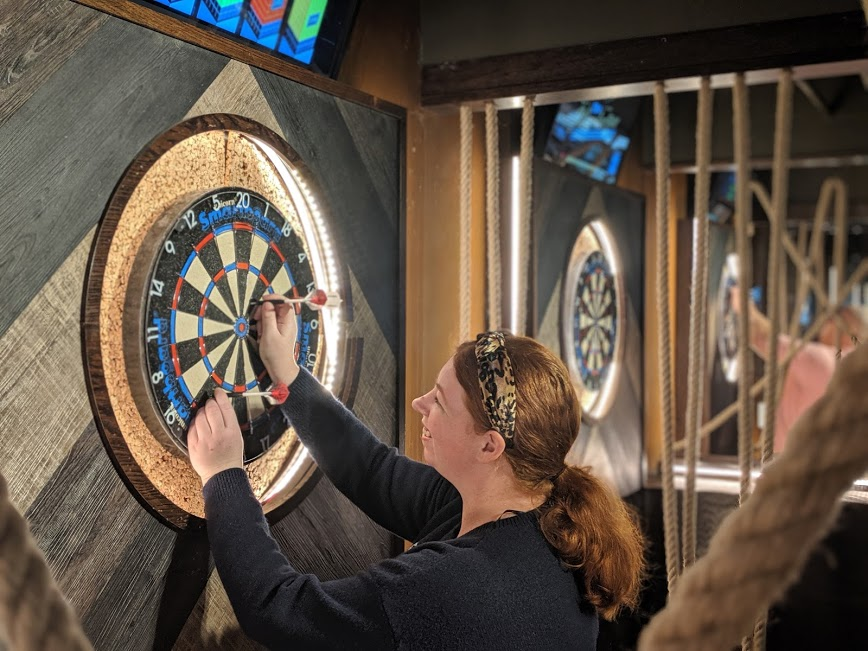 11 Fun Date Ideas in Newcastle Upon Tyne - interactive darts at The WonderBar