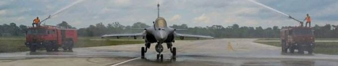 IAF Formally Inducts Rafale Jets Into 101 Squadron of Eastern Air Command