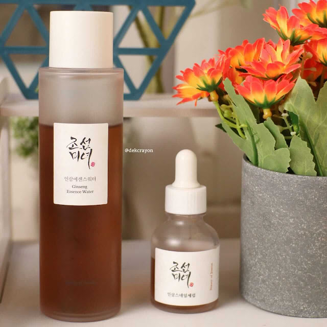 reiew beauty of joseon repair serum ginseng + snail mucin