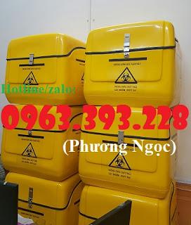 Thùng chở rác y tế nguy hại sau xe máy. thùng vận chuyển chất thải lây nhiễm 1a24333dd600345e6d11%2B%25281%2529