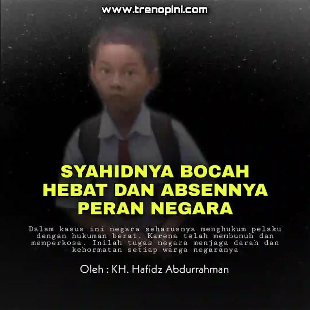 Rangga, bocah 9 tahun warga Gampong Alue Gadeng, Birem Bayeun, Aceh Timur memang telah tiada. Namun kisah tragisnya di malam buta dalam menyelamatkan ibunya dari pemerkosaan meninggalkan banyak kesan