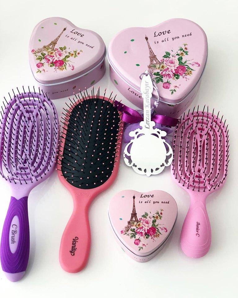 Nuway4 Hair Brush - Saç Fırçaları ve Özellikleri