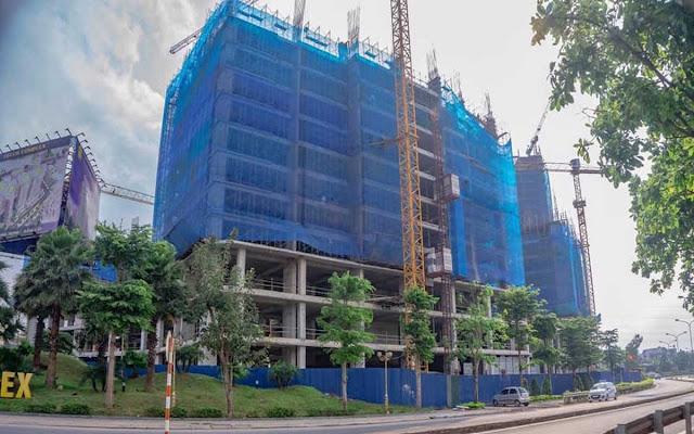 tiến độ xây dựng tecco elite city