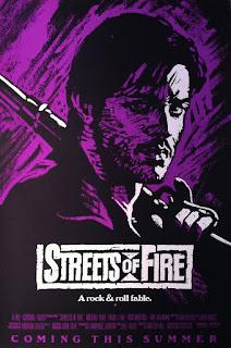 Póster promocional Calles de fuego