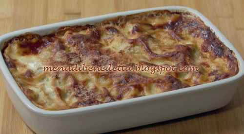 Lasagnette radicchio e gorgonzola ricetta Benedetta Rossi