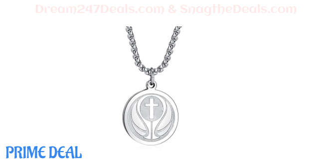 50%OFF Basketball Cross Necklace for Mothers Day gift