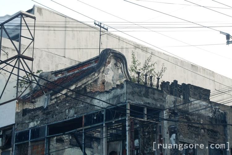 Fasad Bangunan Rumah Tionghoa