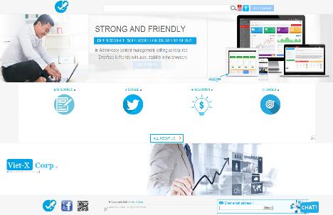 website giá rẻ, đẹp và cực kì chuyên nghiệp từ bloger, giá rẻ và chỉ có ở Viet-X Corp, cung cấp dịch vụ trọn đời