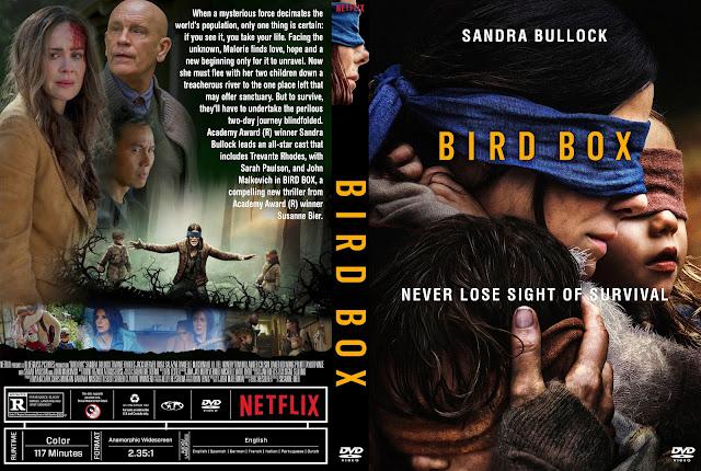 Bird Box DVD Cover