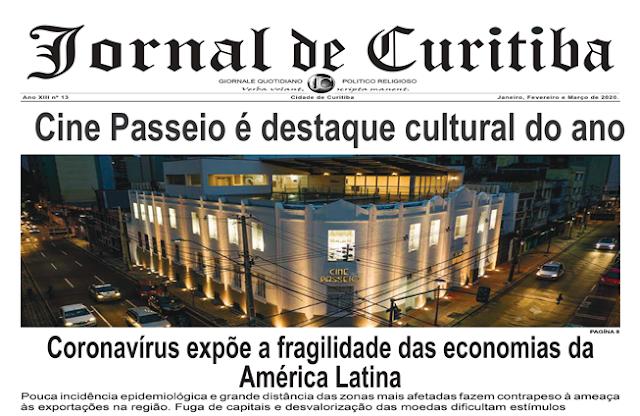Curitiba segue na bandeira laranja