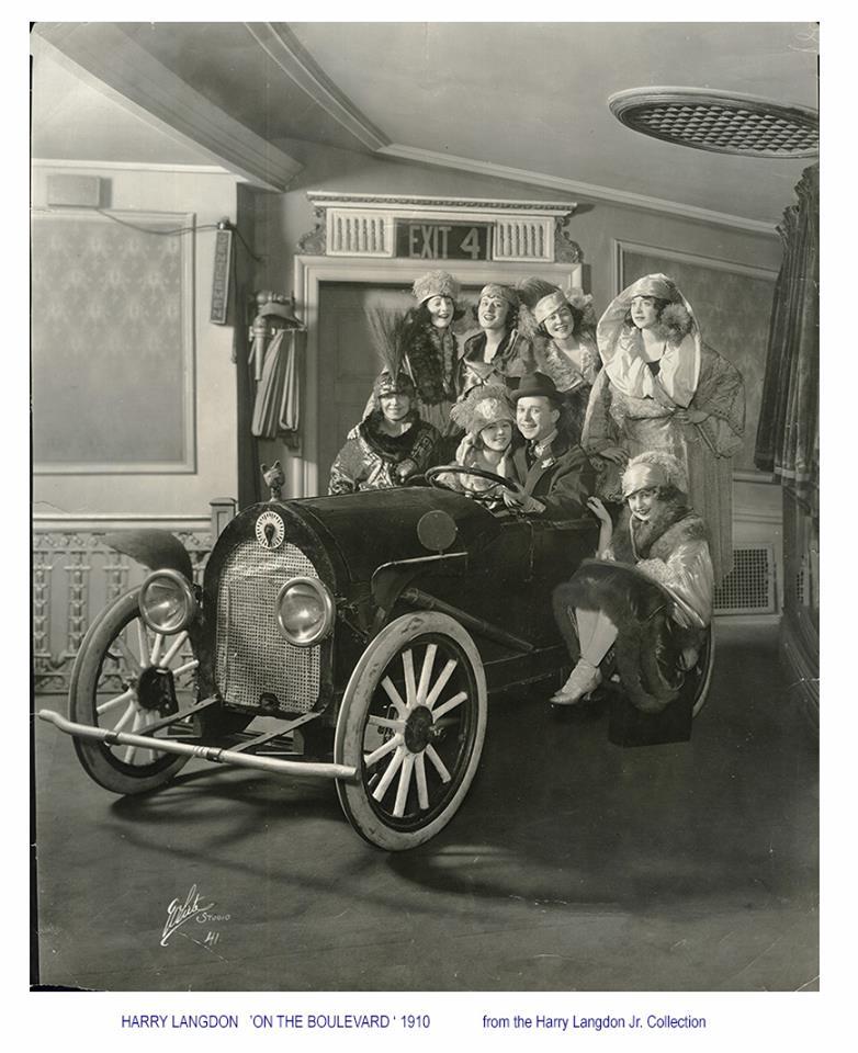 Thelma Todd: Harry Langdon's Car Act