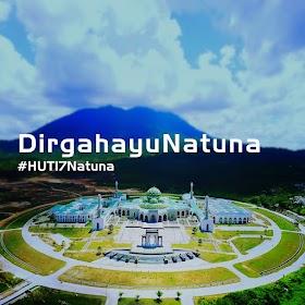 Desain Logo HUT Kabupaten Natuna ke 17