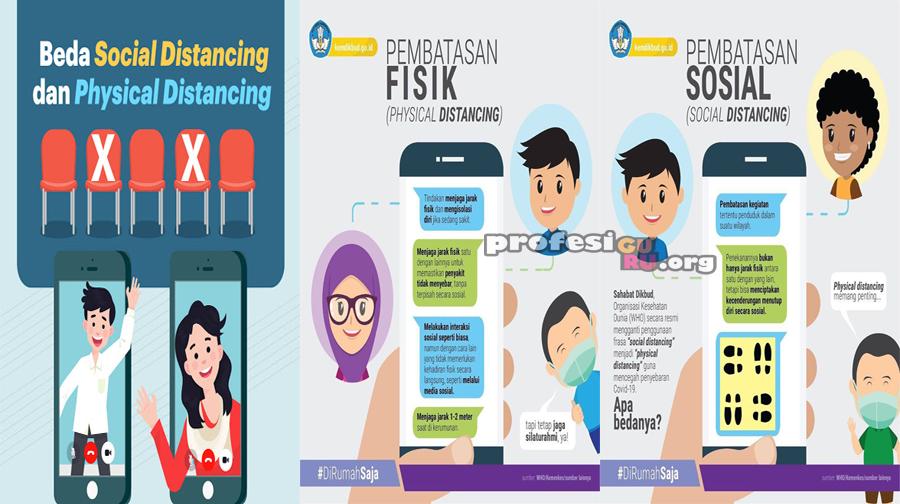 Perbedaan 'Social Distancing' dan 'Physical Distancing' terkait Kebijakan COVID-19