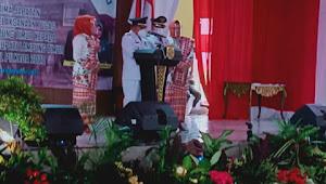 Acara Serah Terima Jabatan dan Laporan Pelaksana Tugas Plh Bupati Lampung Timur