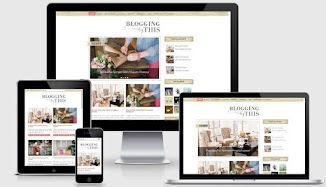 Blogging Fashion Responsive Blogger Template