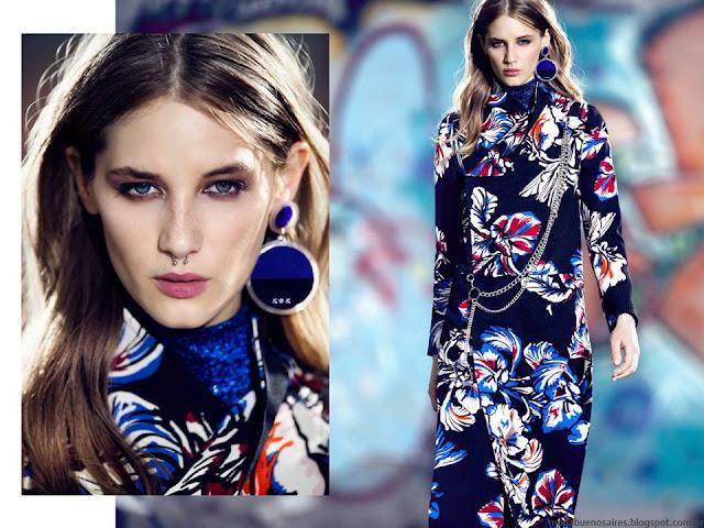 Vestidos invierno 2016 Kosiuko. Moda otoño invierno 2016.