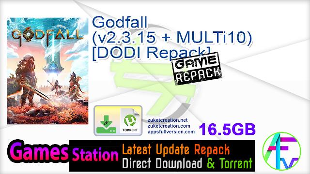 Godfall (v2.3.15 + MULTi10) – [DODI Repack]