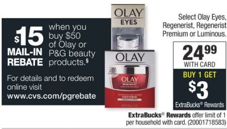 Olay cvs deals