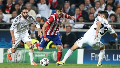 Nhìn lại quá khứ thi đấu giữa Atletico và Madrid.