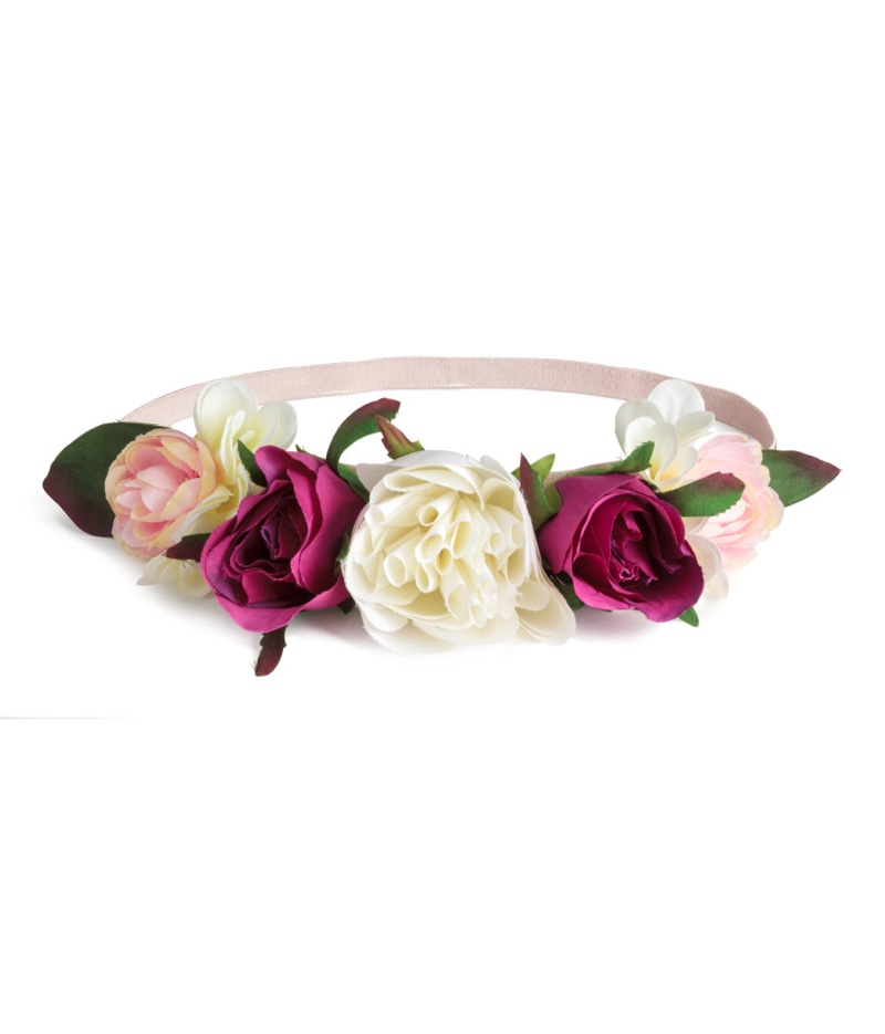 H&M Loves Coachella Hairband with Flowers