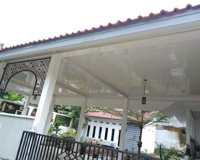 Pemasangan Plafon Pvc Shunda di Rumah Bapak Rudito