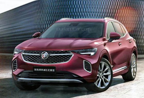 "burlappcar 2021 buick envision ""s"" and ""s avenir"""