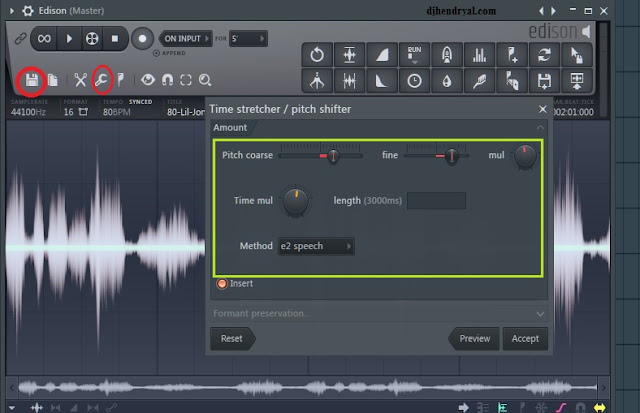 Cara merubah pitch vocal di Fl studio 12 yang mudah