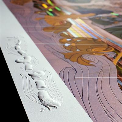 The Golden Passage Fine Art Print by James Jean