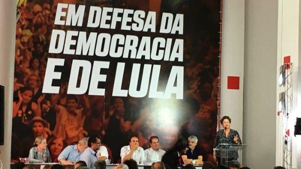 Dilma asegura que objetivo contra Lula es acabar las elecciones