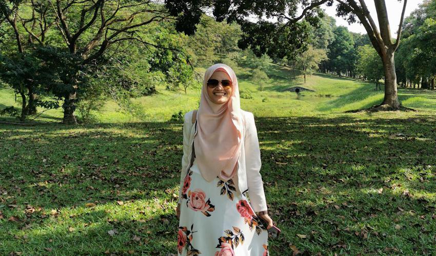 Berjalan di Royal Floria Putrajaya 2019