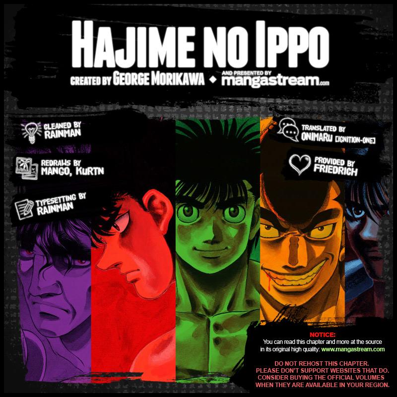 Hajime No Ippo 1187 En