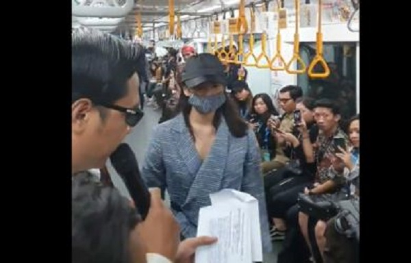 Fashion Show di MRT Jakarta Ganggu Penumpang, Pengelola Minta Maaf