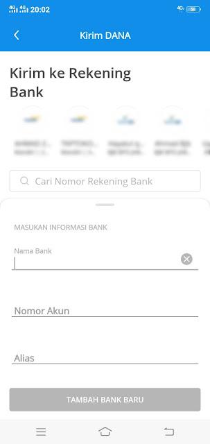 mengirim uang via dompet dana dengan nomor virtual account - root93