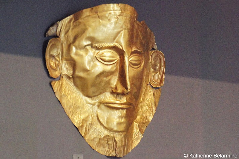 Mask of Agamemnon National Archaeological Museum of Athens One Day in Athens