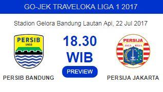 Prediksi Persib Bandung vs Persija Jakarta - GBLA Sabtu 22 Juli 2017